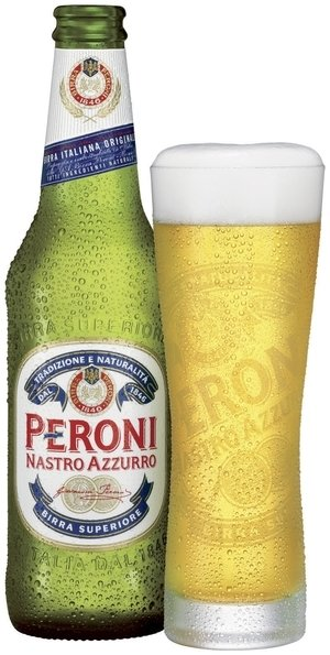 Peroni at Boardwalk Pizza