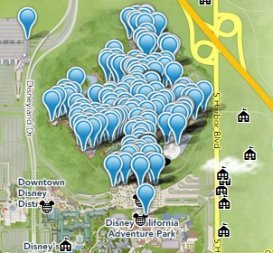 Interactive Map of Disneyland