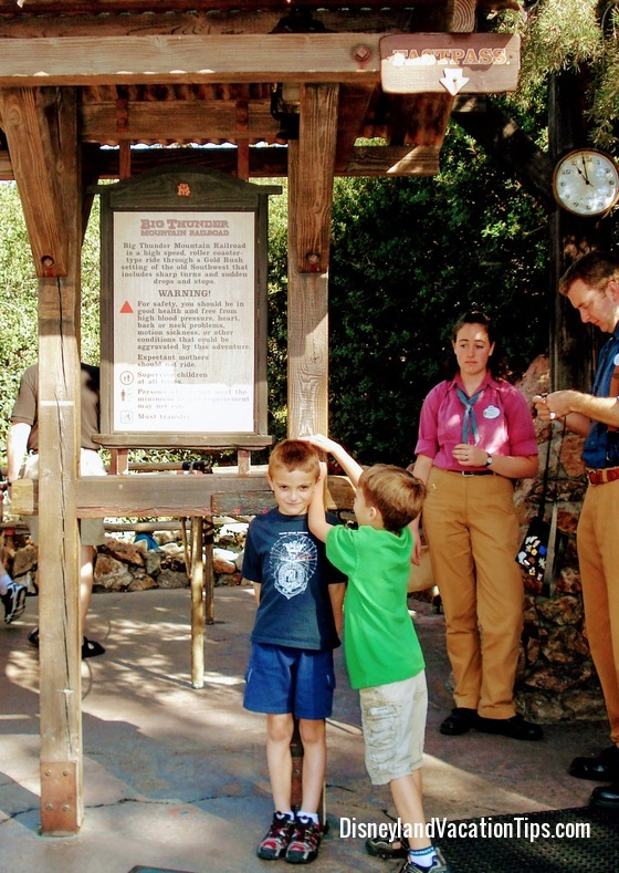 Disneyland Rides Tips - Know height restrictions before you go!