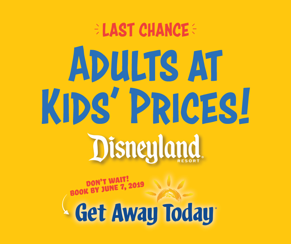 Click to buy Disneyland tickets