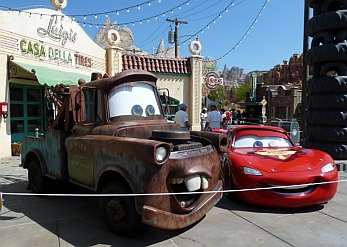 Disney California Adventure: Cars Land