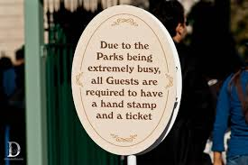 Disneyland Ticket Tips: hand stamp