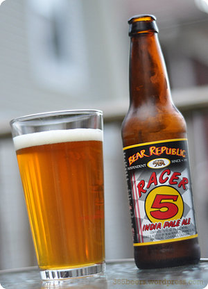 Racer 5 IPA at Flo's V8 Cafe