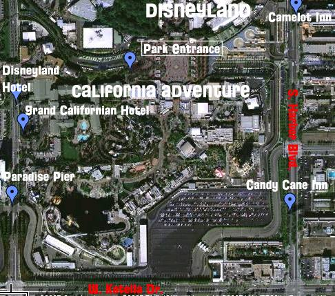 You Should Probably Know This Disneyland Hotels Across The Street