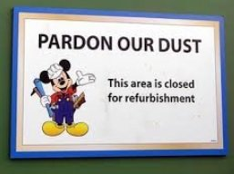 Rides Tips - Know which rides will be closed for refurbishments before you go
